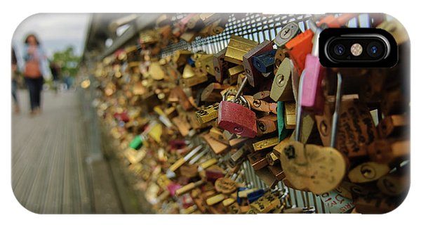 Padlock Bridge IPhone Case