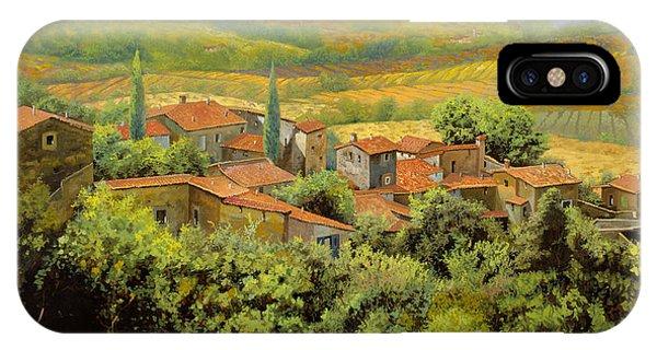Paesaggio Toscano IPhone Case