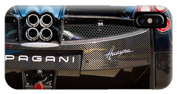 Pagani Huayra Black IPhone Case