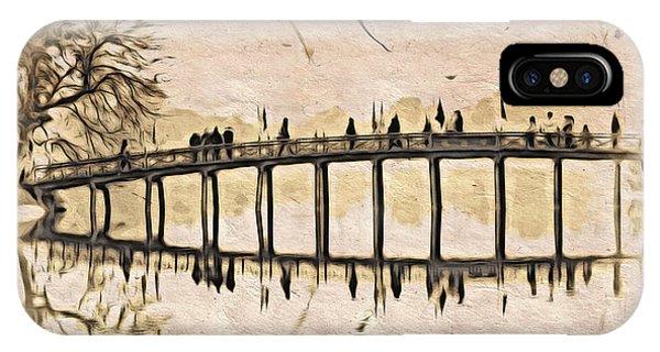 Pagoda Bridge IPhone Case