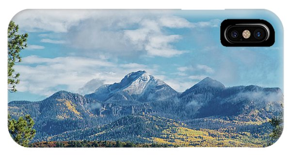 IPhone Case featuring the photograph Pagosa Peak Autumn 2014 by Jason Coward