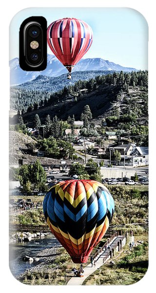 Pagosa Springs Colorfest 2015 IPhone Case