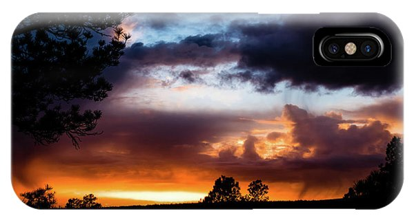 IPhone Case featuring the photograph Pagosa Sunset 11-20-2014 by Jason Coward