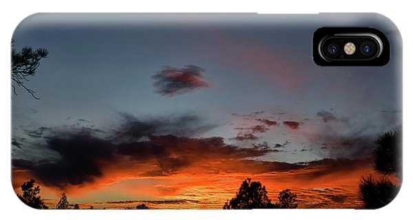 IPhone Case featuring the photograph Pagosa Sunset 11-30-2014 by Jason Coward