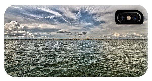 Paint Brush Sky - Ft Myers Beach IPhone Case