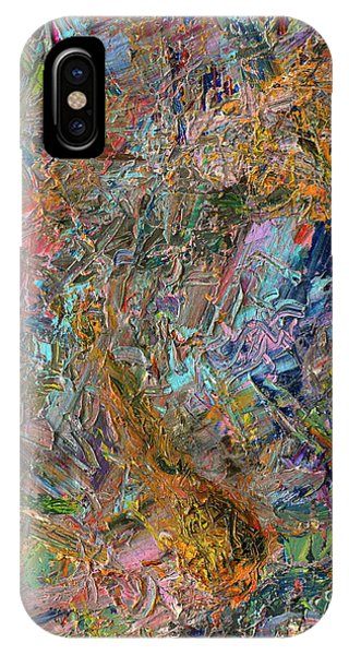 Expressionism iPhone Case - Paint Number 26 by James W Johnson