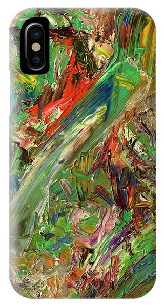 Abstract Expression iPhone Case - Paint Number 32 by James W Johnson