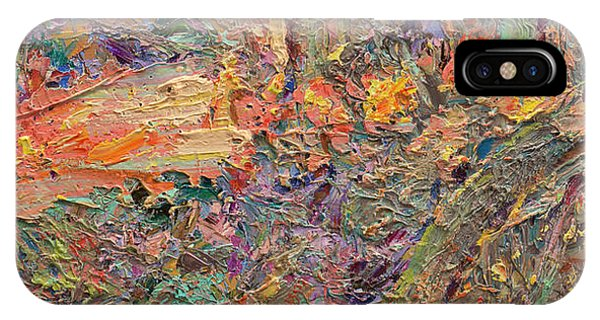 Expressionism iPhone Case - Paint Number 34 by James W Johnson