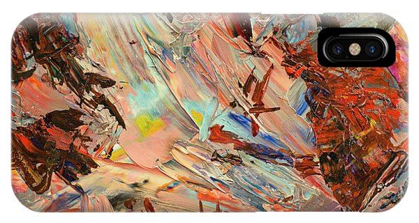 Expressionism iPhone Case - Paint Number 36 by James W Johnson