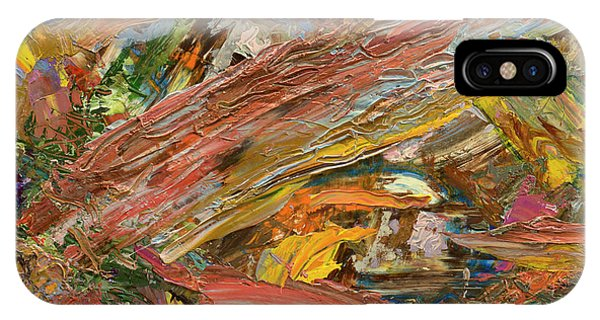 Abstract Expression iPhone Case - Paint Number 41 by James W Johnson