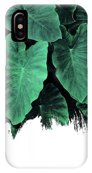 Paint On Jungle IPhone Case