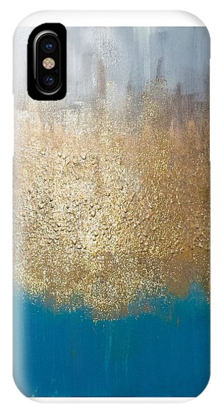 Paint The Sky Gold IPhone Case