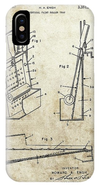 Paint Tray Patent IPhone Case