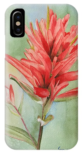 Paintbrush Portrait IPhone Case