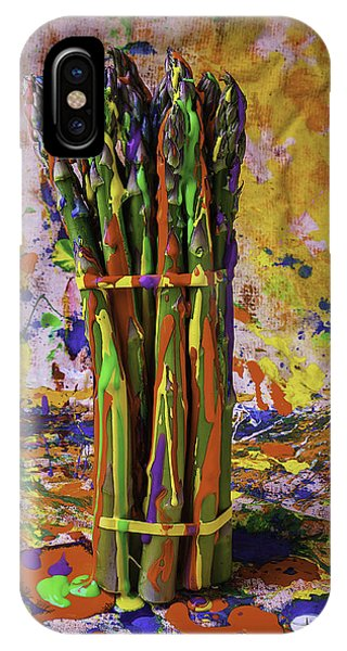Painted Asparagus IPhone Case