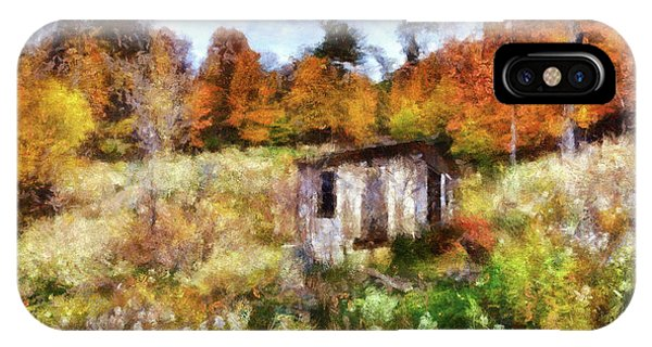 Painted Autumn Clearing IPhone Case