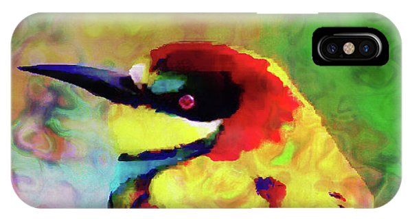 Painted Bee Eater IPhone Case