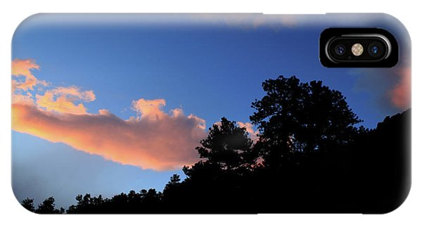 IPhone Case featuring the photograph Painted Clouds by Shane Bechler
