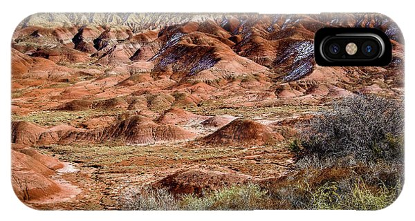 Painted Desert In Winter IPhone Case