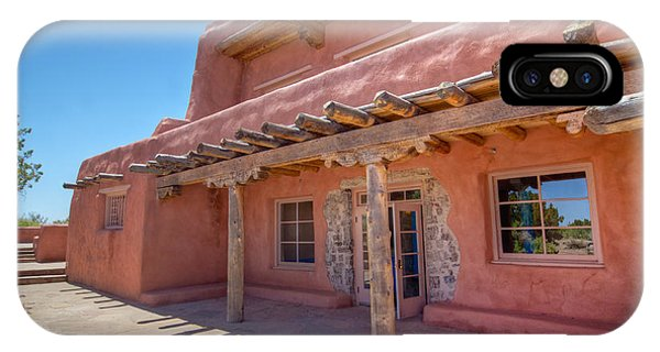 Painted Desert Inn Back Terrace IPhone Case