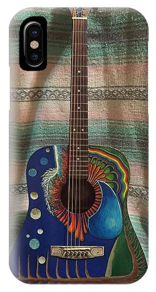 Painted Guitar IPhone Case