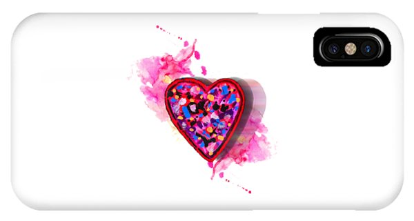 Painted Heart IPhone Case