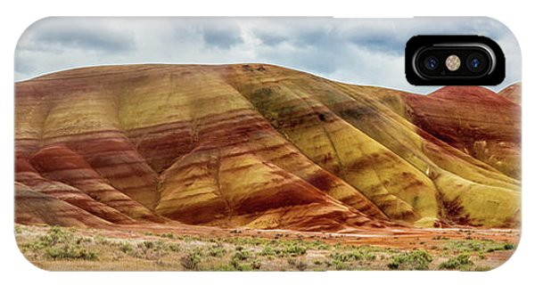 Painted Hills Panorama 2 IPhone Case
