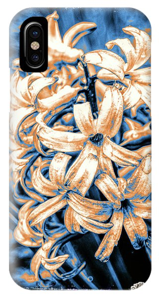 Painted Hyacinth IPhone Case