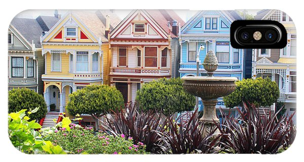 Painted Ladies San Francisco IPhone Case