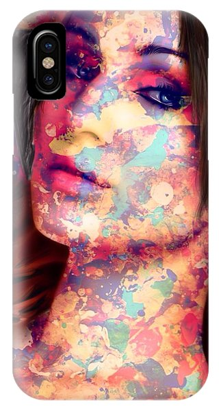 IPhone Case featuring the painting Painted Lady by Mark Taylor