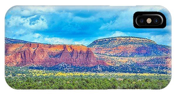 Painted New Mexico IPhone Case