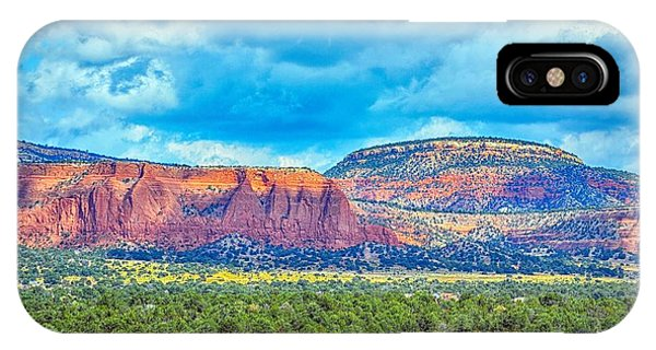 IPhone Case featuring the photograph Painted New Mexico by AJ Schibig