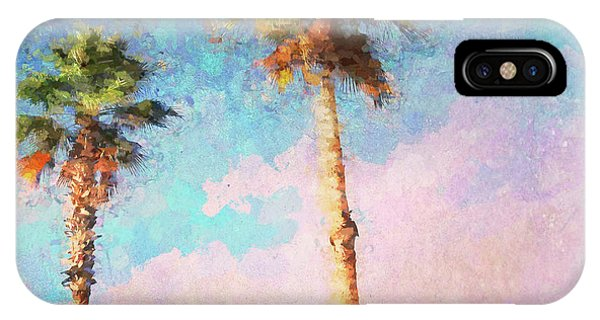 Painted Palms IPhone Case