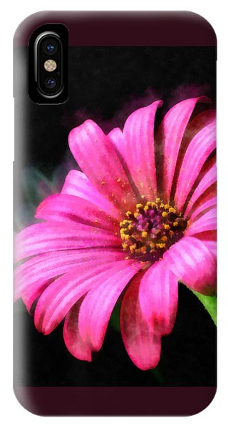 Painted Pink IPhone Case