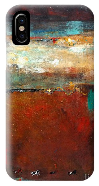 Equine iPhone Case - Painted Ponies by Frances Marino