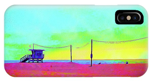 iPhone Case - Painted Santa Monica 1 - Craig by Chris Andruskiewicz