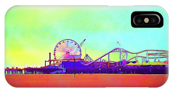 iPhone Case - Painted Santa Monica 2 - Craig by Chris Andruskiewicz