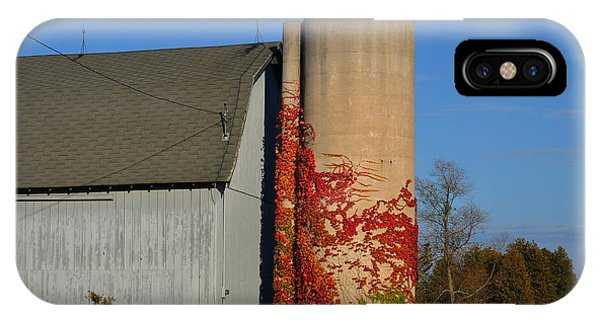 Painted Silo IPhone Case