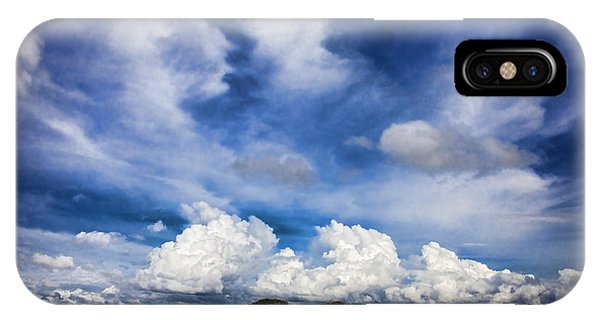 Painterly Sky Over Oklahoma IPhone Case