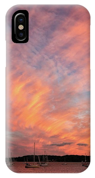 Painterly Sunset IPhone Case