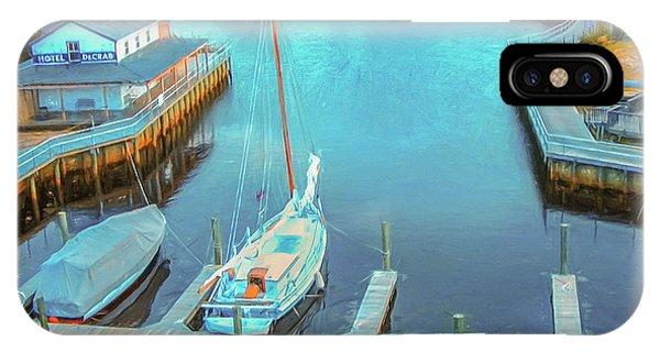 Painterly Tuckerton Seaport IPhone Case