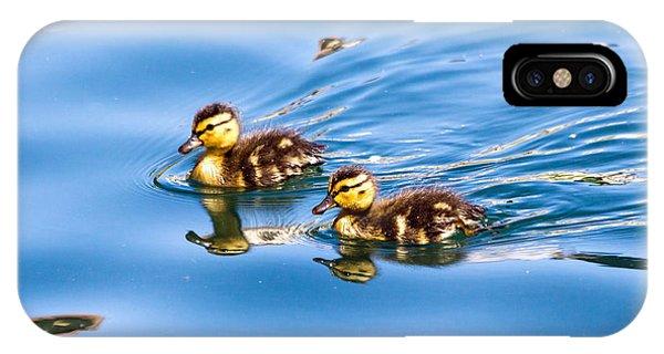 Duckling Duo IPhone Case