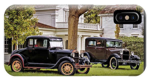 Pair Of Ford Model A  IPhone Case