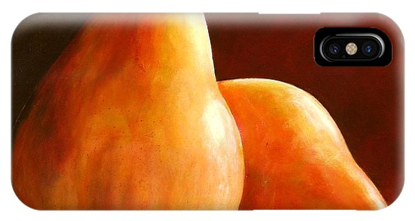 Pear iPhone Case - Pair Of Pears by Toni Grote