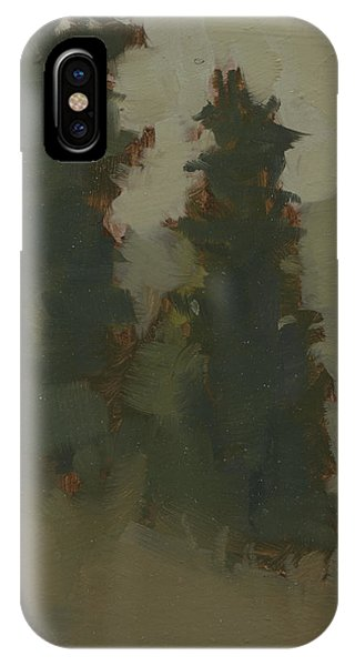 Pair Of Trees IPhone Case