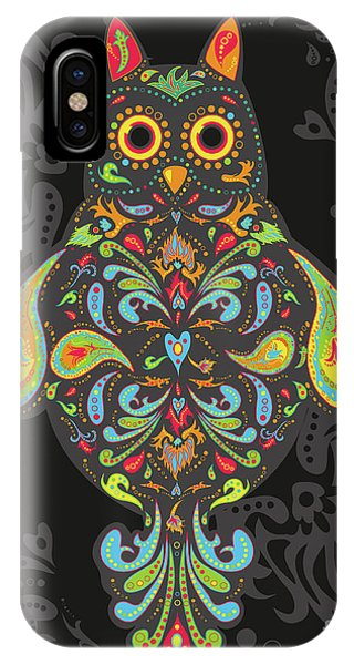 Paisley Owl IPhone Case