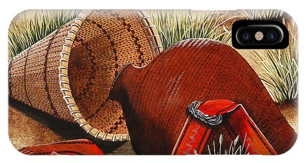 Paiute Baskets IPhone Case