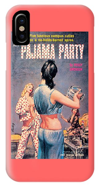 Pajama Party IPhone Case