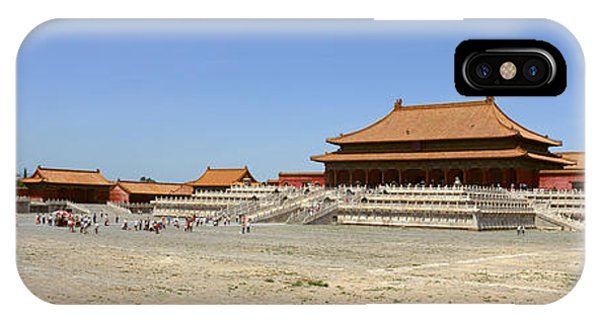 Forbidden City iPhone Case - Palace Area Of The Forbidden City by Panoramic Images