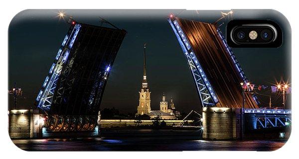 Palace Bridge At Night IPhone Case